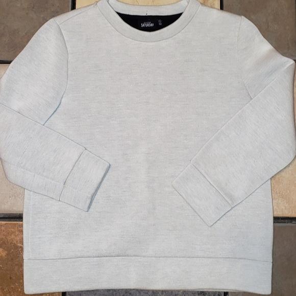kate spade Tops - Kate Spade Saturday Gray Sweatshirt